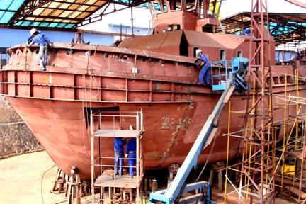 Ngành công nghiệp đóng tàu: Cơ hội mới, vận hội mới